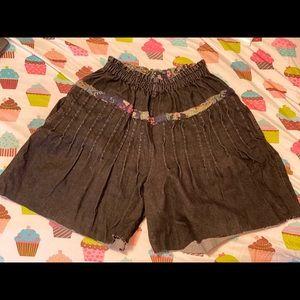 Wide Leg Shorts